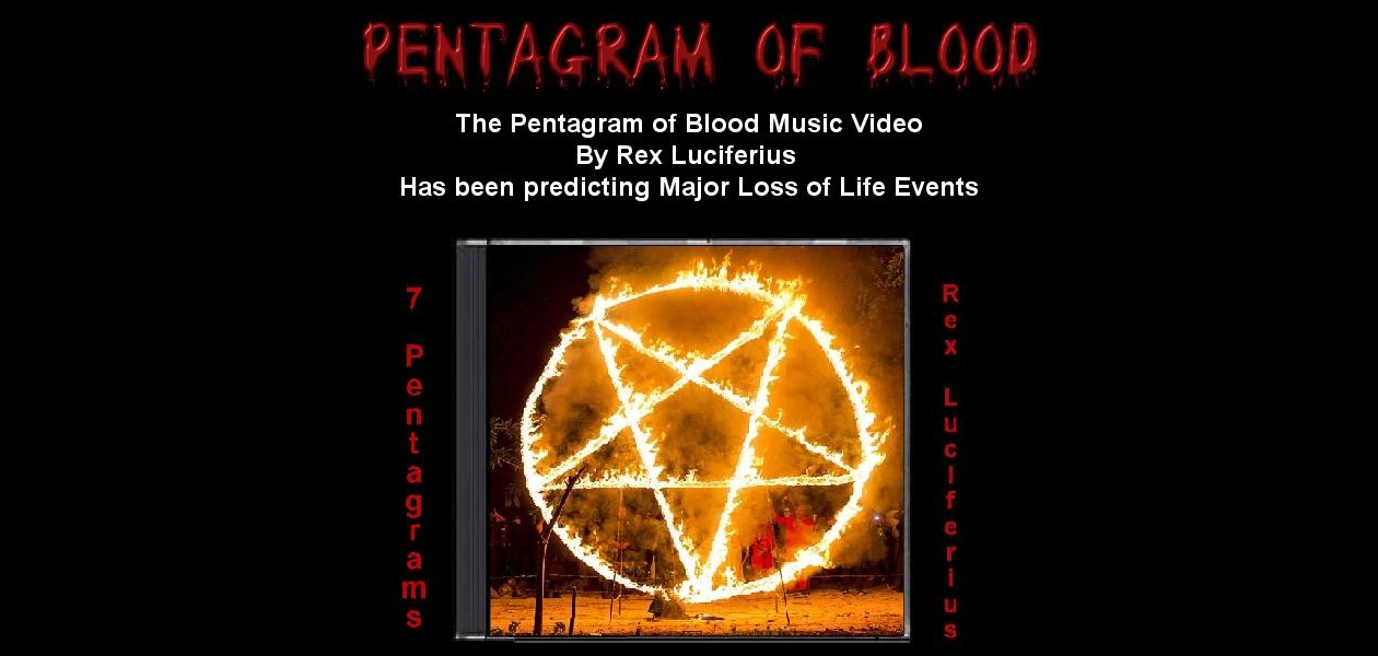 Pentagram of Blood Music Videos