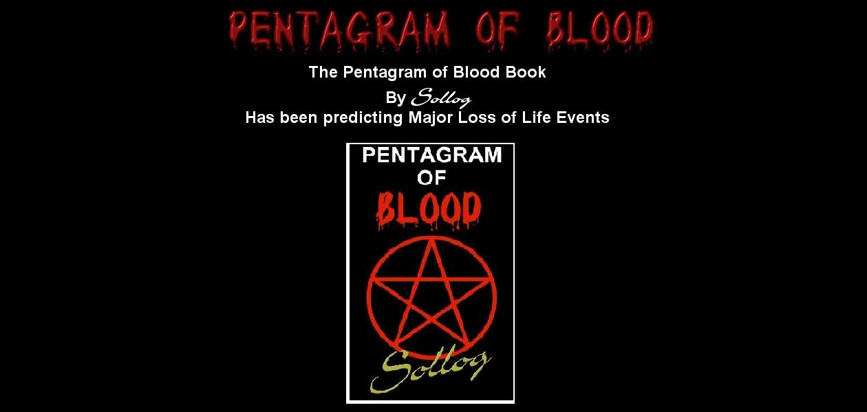 Pentagram of Blood Book