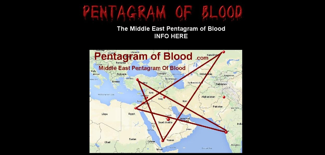 Pentagram of Blood Middle East